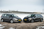 Ford Focus Wagon vs. Renault Mégane Estate