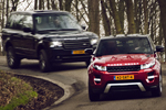 Range Rover TDV8 vs. Evoque Coupé