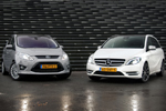 Mercedes-Benz B-Klasse vs. Ford C-Max