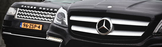 Mercedes-Benz GL vs. Range Rover